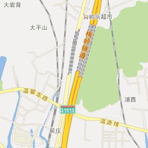 广化小区手绘地图