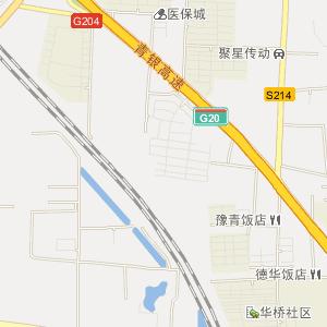 青岛市城阳区地图