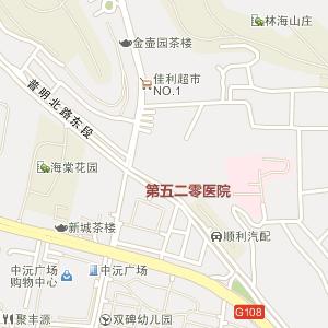青岛莱西马连庄地图