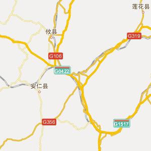 吉安市泰和县地图