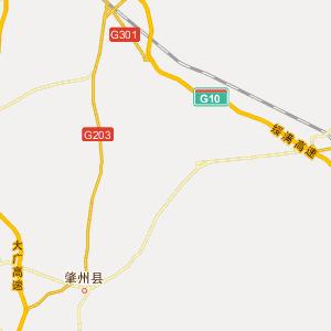 绥化市肇东市地图