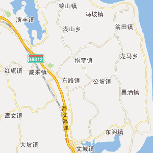 海南儋州市地图全图