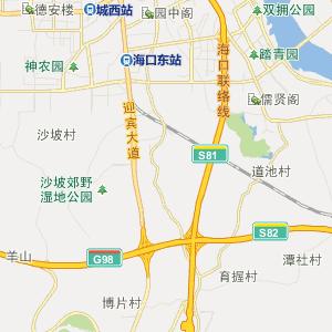 海口公交车线路查询 海口公交车线路 ->30路上行  显示全部站点名称