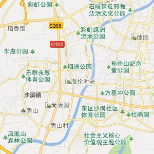 中山市政府分布地图 中山市政府交通线路图 广东省中山市行政地图图片