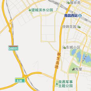 南昌高铁巴士2路下行公交线路