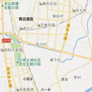 南昌市动物园地图