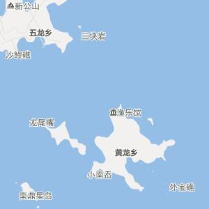 嵊泗到枸杞岛地图