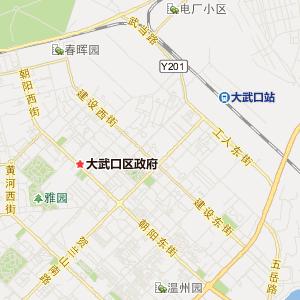 大武口区银行地图_大武口区酒店...